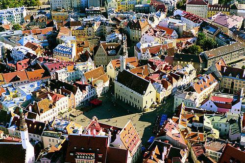 Таллин. Вид на Нижний Старый